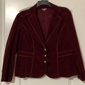 Beautiful Maroon Corduroy Jacket!
